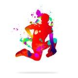 tancerka abstrakcyjne Obraz Royalty Free