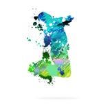 tancerka abstrakcyjne Zdjęcie Stock