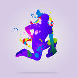 tancerka abstrakcyjne Zdjęcie Royalty Free