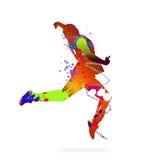 tancerka abstrakcyjne Zdjęcia Stock