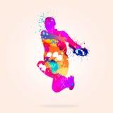 tancerka abstrakcyjne Fotografia Royalty Free