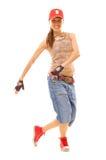 tancerka miejskiego atrakcyjna Fotografia Royalty Free