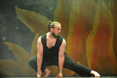 tancerka nowoczesnego Obrazy Royalty Free