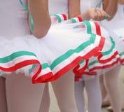 tancerki patriotami young Zdjęcia Stock