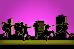 tancerz ilustracja royalty ilustracja