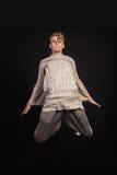 Tancerz na ciemnym tle Fotografia Royalty Free