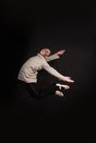 Tancerz na ciemnym tle Zdjęcie Royalty Free
