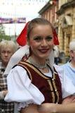 Tancerz pozy przy Rochester festiwalem Fotografia Royalty Free