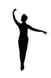 tancerz sylwetka Zdjęcia Royalty Free