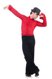 Tancerz tanczy hiszpańskich tanów Zdjęcia Stock