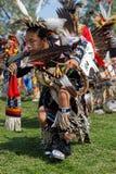 Tancerz 49th roczny Zlany plemienia Pow no! no! w Bismark zdjęcie stock