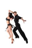 Tancerz w akci Zdjęcie Royalty Free