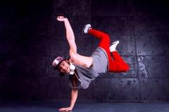 Tancerz w ruchu Zdjęcie Royalty Free