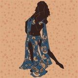 tancerz wschodni ilustracji