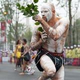 tancerza australijski lud Zdjęcie Royalty Free