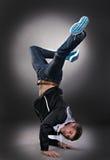 tancerza chłodno mężczyzna fotografia royalty free