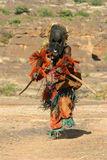 tancerza dogon maska plemienna Obrazy Royalty Free