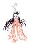 tancerza gypsy Fotografia Royalty Free