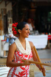 tancerza hula Zdjęcia Royalty Free