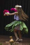 tancerza hula japończyk Zdjęcie Royalty Free