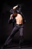 tancerza nowożytny styl Zdjęcie Stock