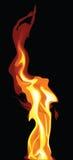 tancerza ogień zdjęcia stock