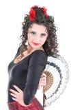 tancerza portreta spanish obrazy stock