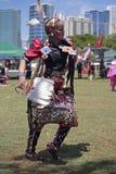 Tancerza Pow no! no! Zdjęcia Royalty Free