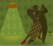 tancerza reto Obrazy Stock