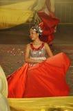 tancerza rzeki kolor żółty Obrazy Royalty Free