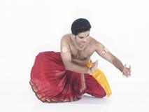 tancerza tradycyjny indyjski męski Zdjęcia Stock