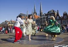 tancerze Delft Zdjęcie Stock