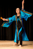 Tancerze - Japoński taniec Zdjęcia Stock