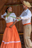 Tancerze od Poerto Rico w tradycyjnym kostiumu Zdjęcie Royalty Free
