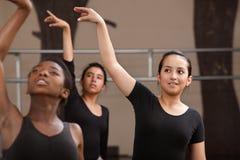 tancerze practing potomstwa Zdjęcie Stock