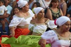 Tancerze przy Arica karnawałem Fotografia Royalty Free