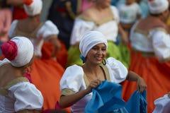 Tancerze przy Arica karnawałem Obraz Royalty Free