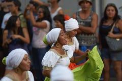 Tancerze przy Arica karnawałem Obrazy Stock