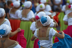 Tancerze przy Arica karnawałem Zdjęcia Stock
