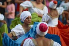 Tancerze przy Arica karnawałem Fotografia Stock