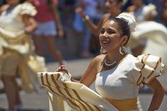 Tancerze przy Arica karnawałem, Chile Obraz Royalty Free