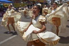 Tancerze przy Arica karnawałem, Chile Obraz Stock