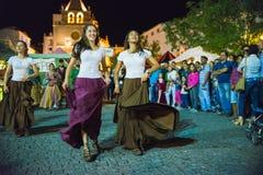 tancerze średniowiecznych Zdjęcia Royalty Free