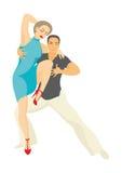 Tancerze salsa Obraz Royalty Free