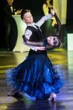 Tancerze tanczy standardowego tana Zdjęcia Stock