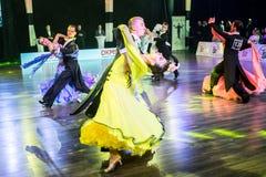 Tancerze tanczy standardowego tana Zdjęcie Royalty Free
