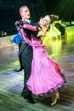 Tancerze tanczy standardowego tana obraz stock