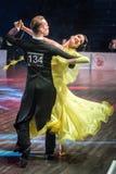 Tancerze tanczy standardowego tana fotografia stock