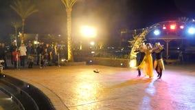 Tancerze w egipcjanina stylu zbiory wideo