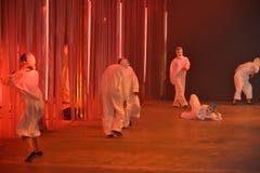 Tancerze wykonują przy Rochambeau pasa startowego przedstawieniem Zdjęcia Stock